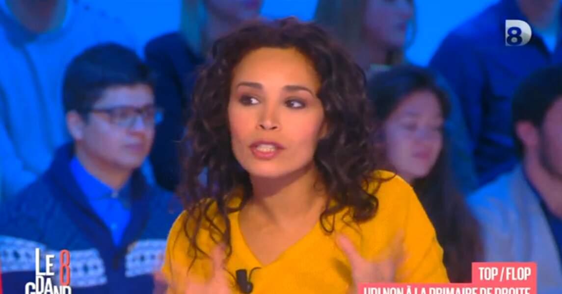 ... et le pull jaune d'Aïda Touihri