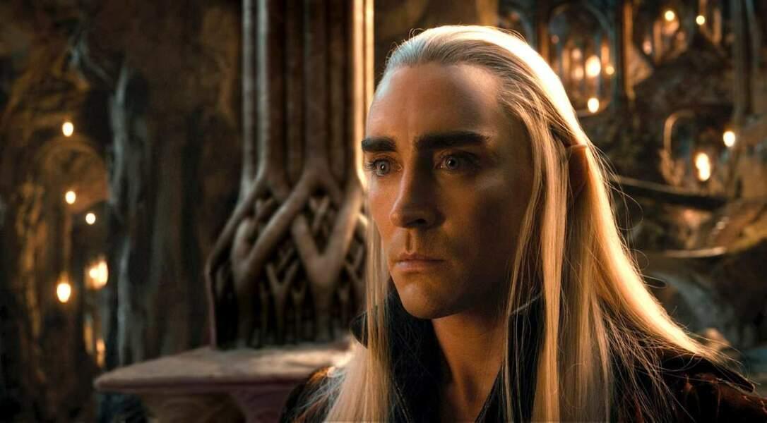 Lee Pace alias Thranduil dans Le Hobbit : La désolation de Smaug