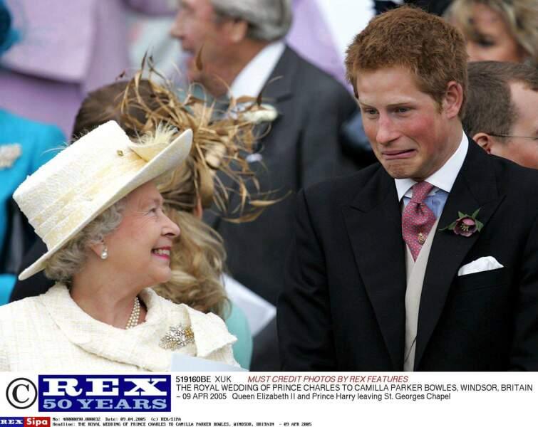 Mais celle qu'il aime par dessus tout, c'est sa royal Granny !