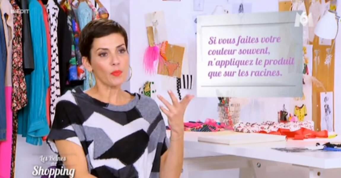 Que pensez-vous de la petite robe super visuelle de Cristina Cordula ?