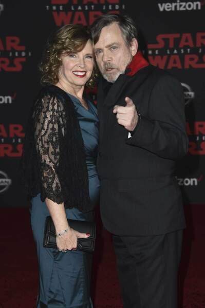 Mark Hamill et sa femme
