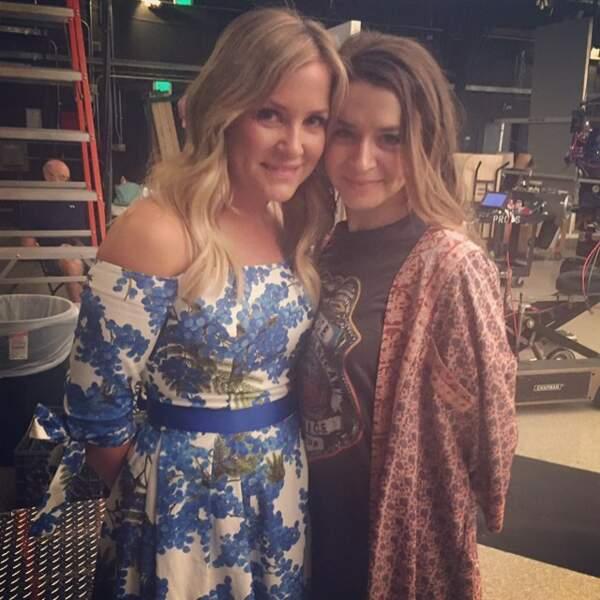 Caterine Scorsone et Sarah Drew sont plus belles que jamais