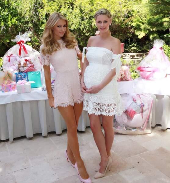 Et Nicky Hilton était radieuse pour sa baby-shower !