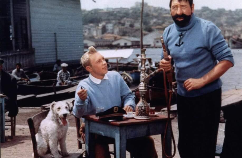 C'est parti pour le cinéma ! 1961 : Jean-Pierre Talbot et Georges Wilson dans Le Mystère de la Toison d'or