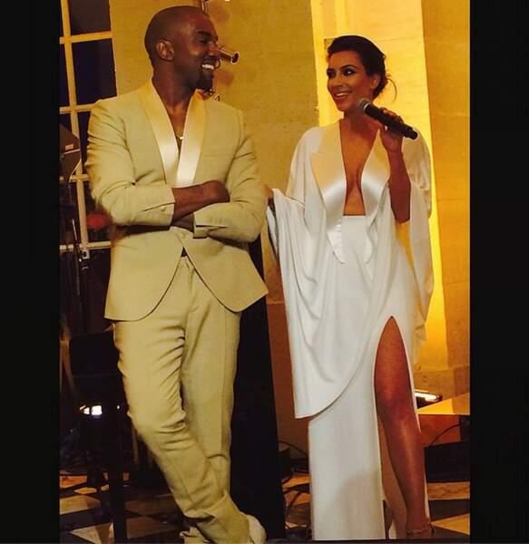 Ce week-end, l'évènement people, c'était bien sûr le mariage de Kim Kardashian et Kanye West.