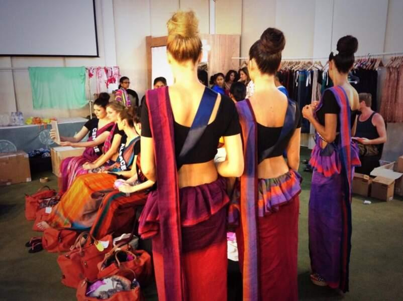 Les Miss en tenues traditionnelles