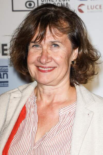 L'actrice Anne Le Ny (57 ans).