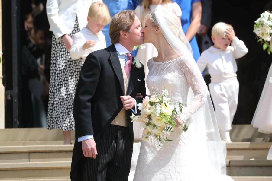 Les heureux mariés : Lady Gabriella Windsor et Tom Kingston