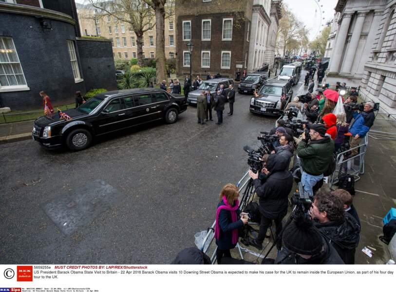 Pas le temps de digérer que Barack Obama se rend à Downing Street