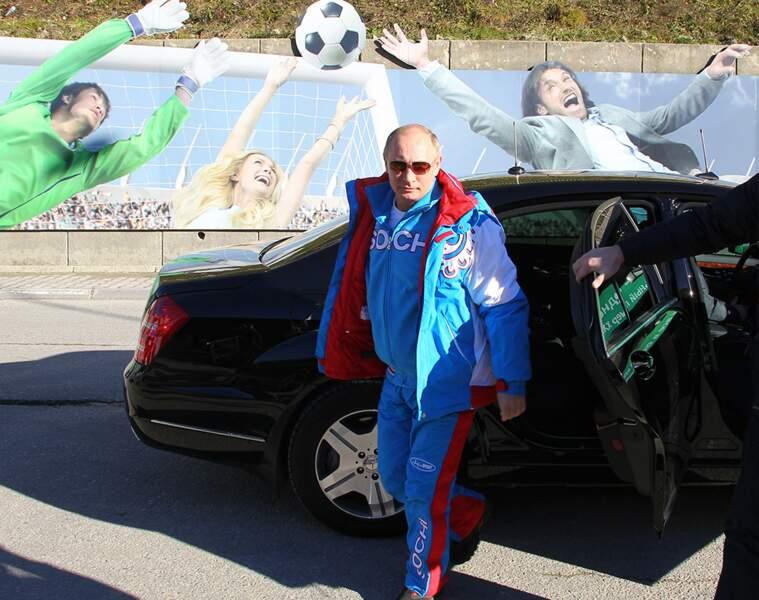 Vladimir veut faire du sport.