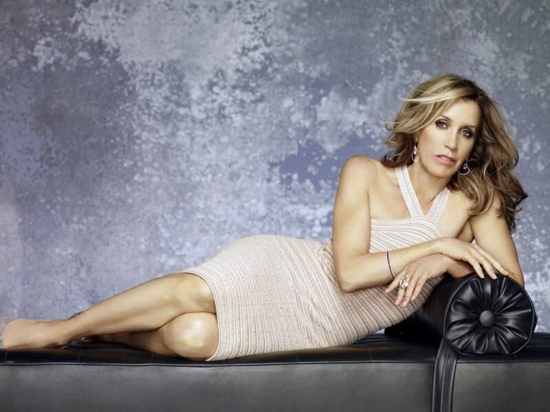 Felicity Huffman en promo pour Deseperate Housewives saison 8