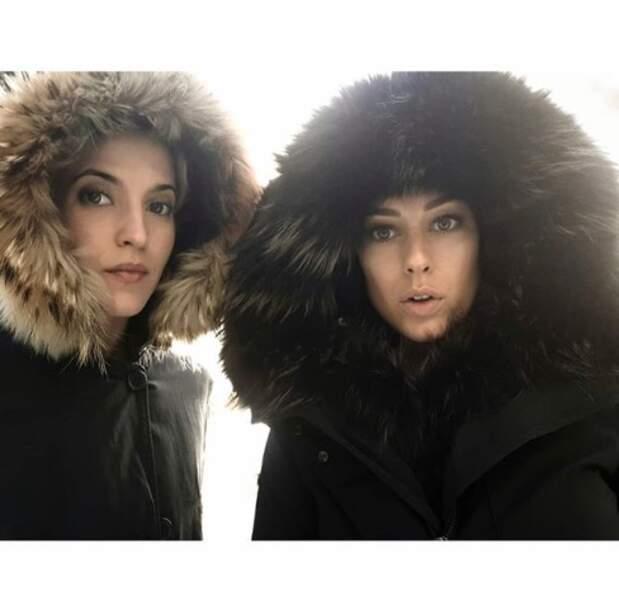 On en oublierait même qu'on se les caille sévère, comme les actrices Ana Fernandez et Blanca Suarez.