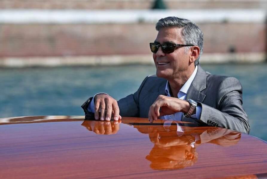 En toute circonstance, George Clooney a une classe folle