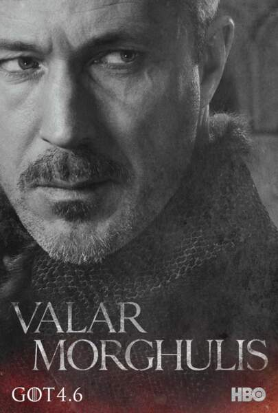 Aidan Gillen incarne Petyr Baelish, ou Littlefinger