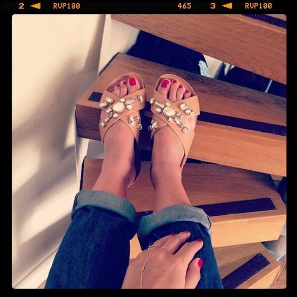 Belle jusqu'au bout des ongles (des pieds !)