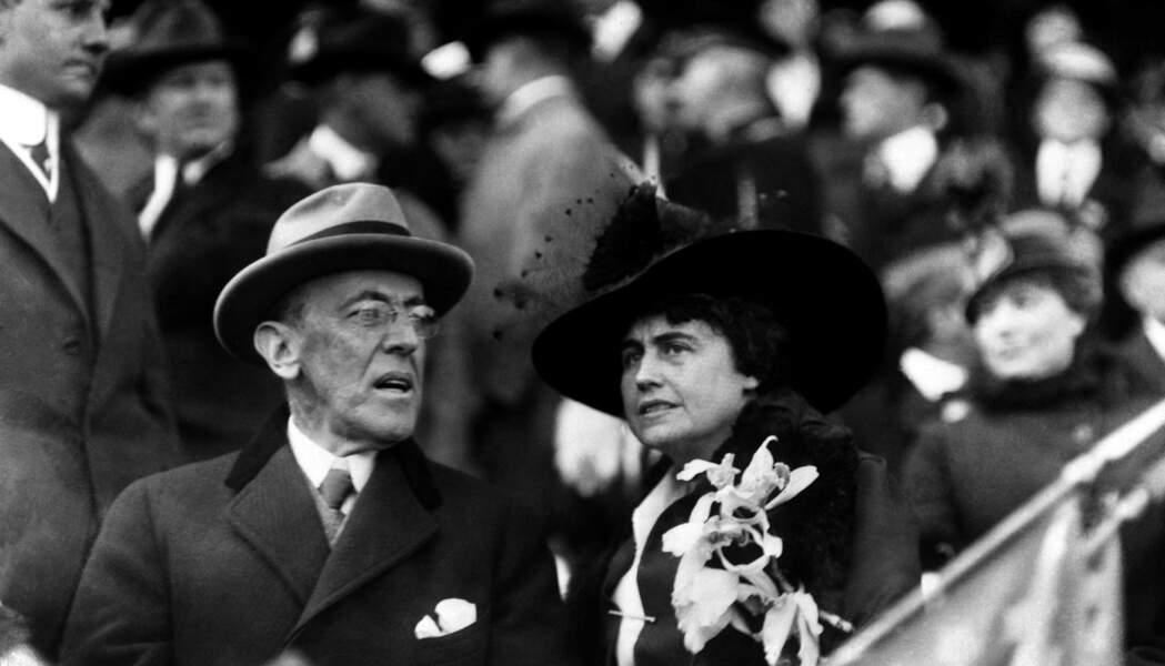 """Surnommé le """"président secret"""", Edith Wilson, seconde épouse du président Wilson, gouvernait à sa place"""