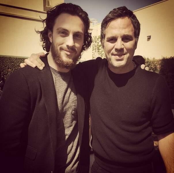 Avec Hulk/Mark Ruffalo