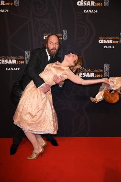 En coulisses, Philippe Katerine fait valser Julie Depardieu