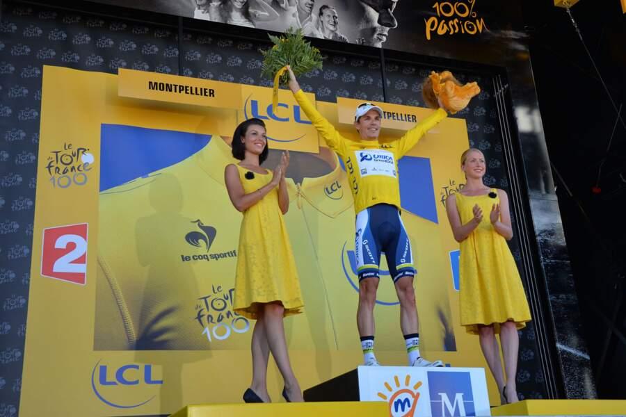 Tout comme le nouveau maillot jaune, Daryl Impey