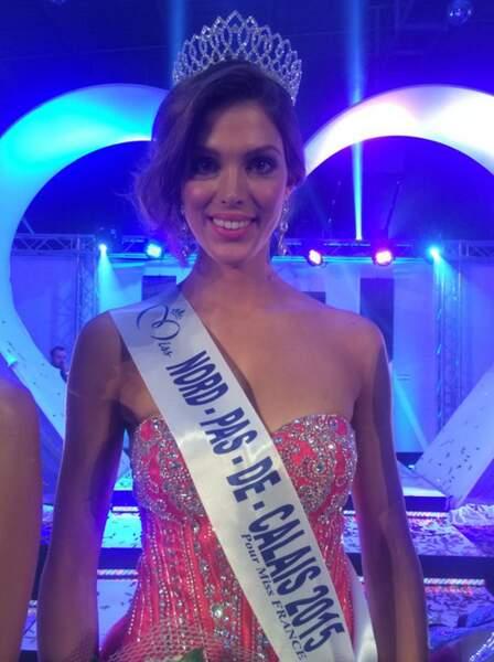 Voici Iris Mittenaere, la Miss Nord-Pas-de-Calais