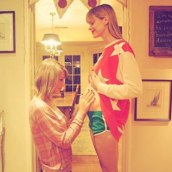 Taylor Swift est ravie : elle va devenir la marraine du bébé de Jaime King