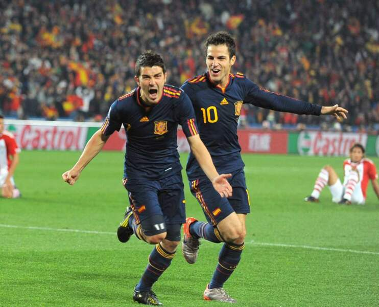 24. David Villa (Espagne) 8 buts