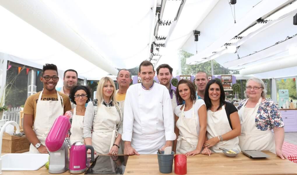 L'équipe des candidats au grand complet avec le chef Yann Brys