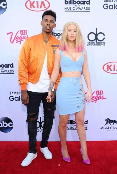 La rappeuse Iggy Azalea et le basketteur Nick Young, en couple depuis 2014.