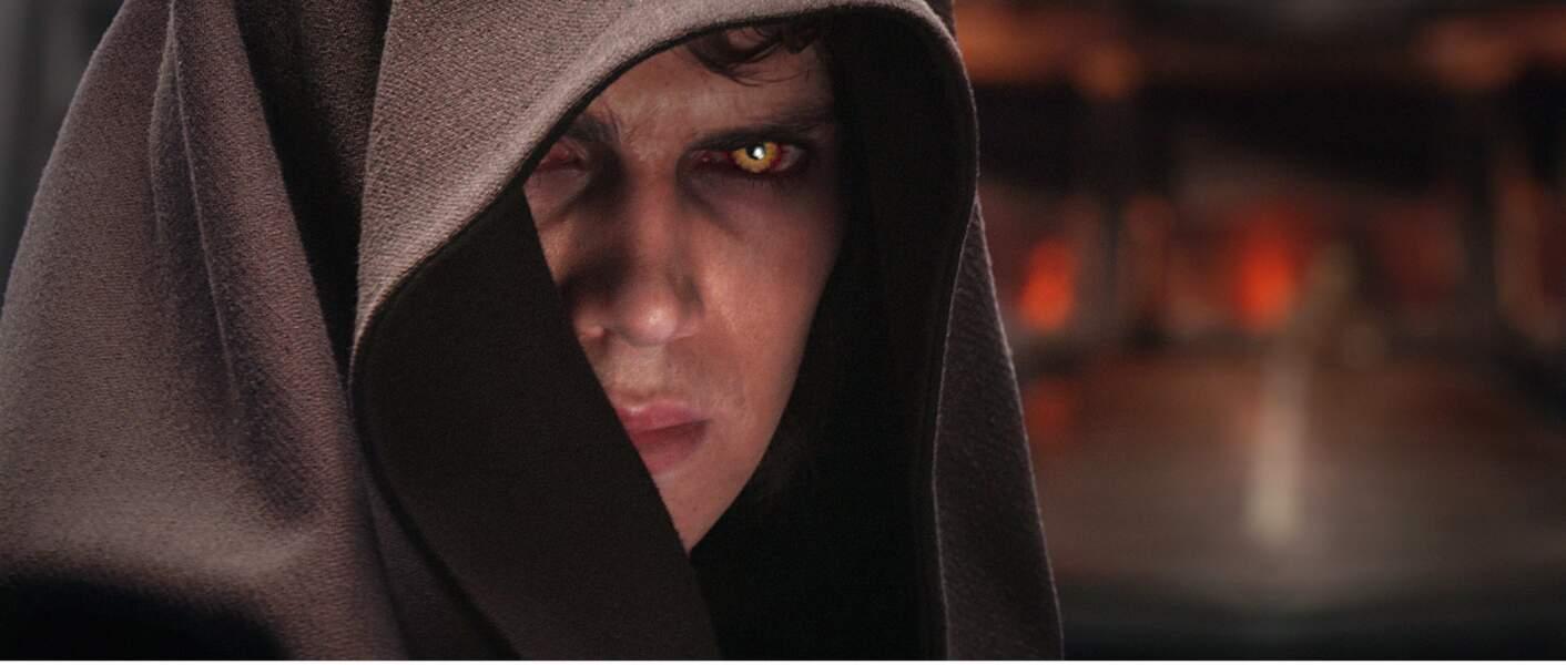 Hayden Christensen passé du côté obscur de la Force dans Star Wars : La revanche des Siths