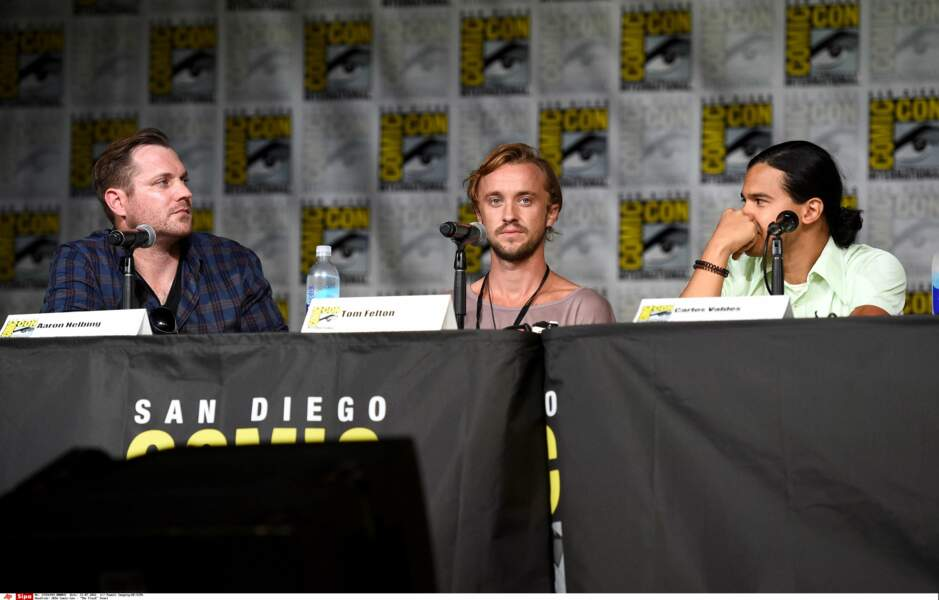 Tom Felton, alias Drago Malfoy dans Harry Potter, a rejoint la série !