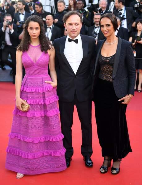 Vincent Perez, Karine Silla et leur fille