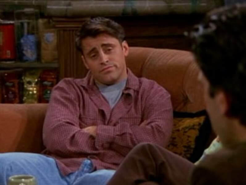 Joey, lui, a pris du muscle !