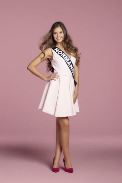 Alexane Dubourg, Miss Normandie