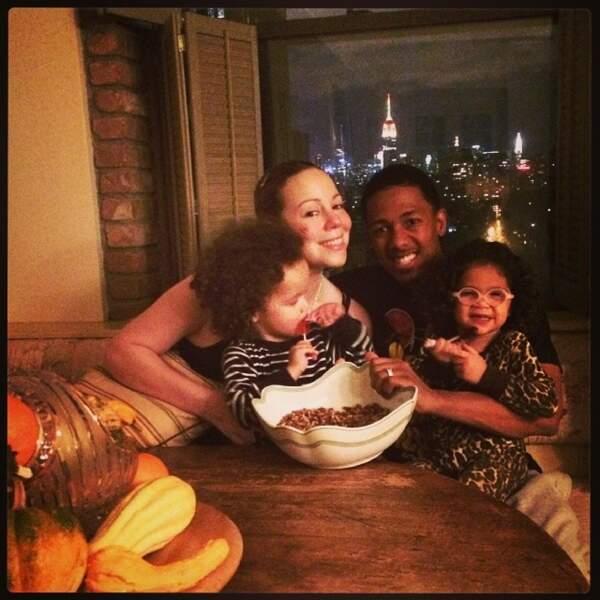 Petite photo en famille qui respire le bonheur