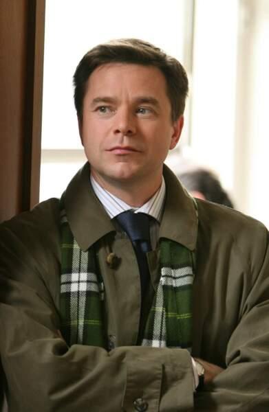 Guillaume de Tonquédec, lors du tournage de la saison 1. Il incarne le mari de Fabienne, Renaud Lepic
