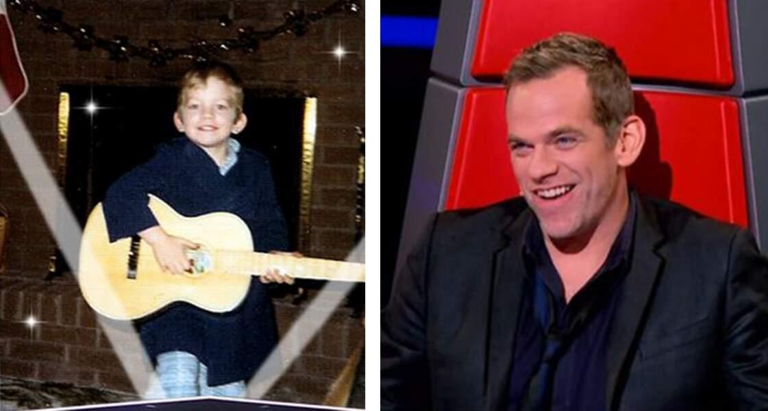 Enfant et déjà passionné de musique