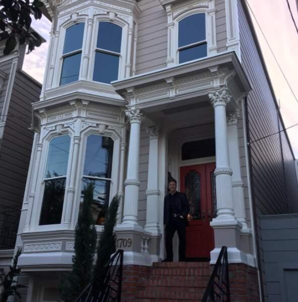 Vous reconnaissez la maison ? C'est l'originale, à San Francisco, et Jeff Franklin vient de l'acheter !