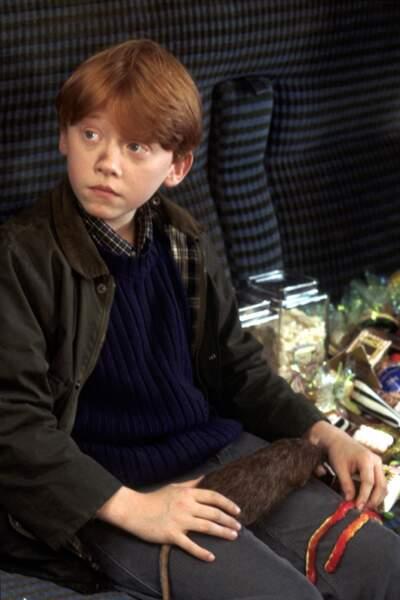 Il faut dire que Ron s'est bonifié avec le temps car à l'école des sorciers, c'était pas encore ça !