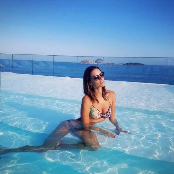 Tout comme la top-model Alessandra Ambrosio.