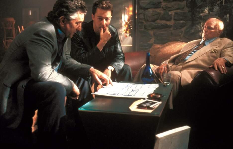 Cambrioleur en pré-retraite dans The Score (2001)