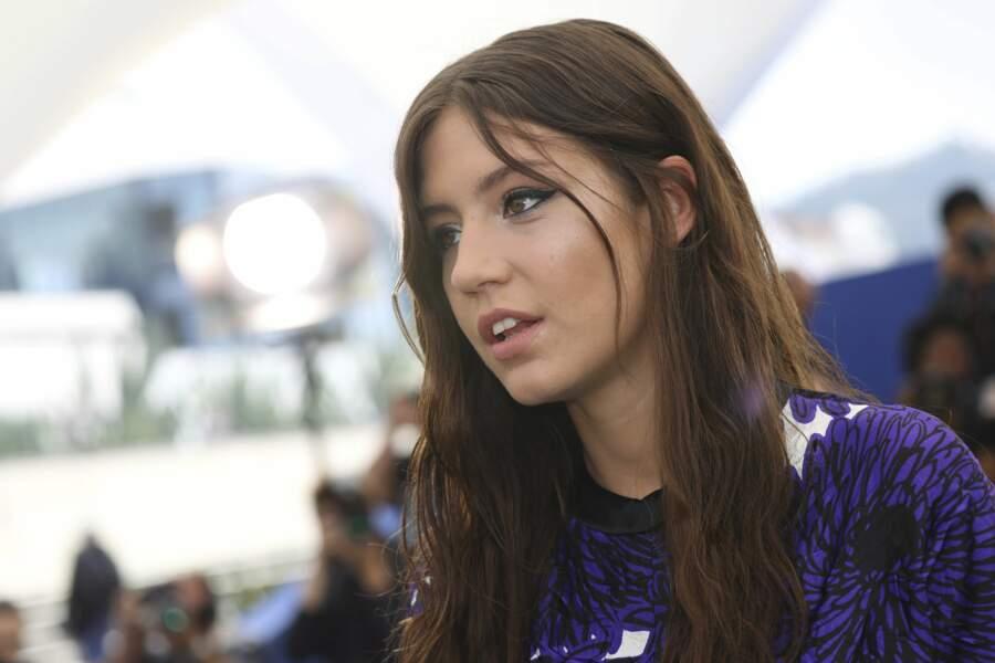 À Cannes, pendant le photocall de Sybil