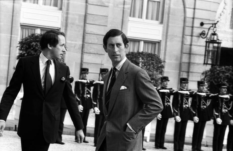 Charles, lui aussi, est venu ! Une première fois en juin 1981, quelques jours avant son mariage