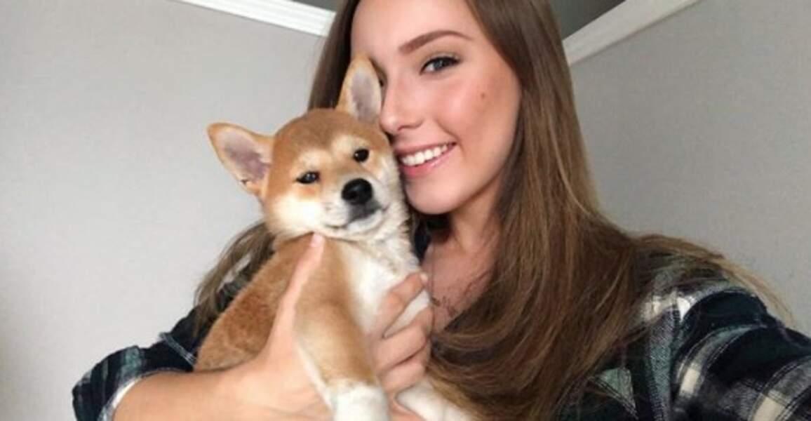 Eminem est désormais papy : sa fille Hailie Jade Scott a adopté cet adorable Wolf.