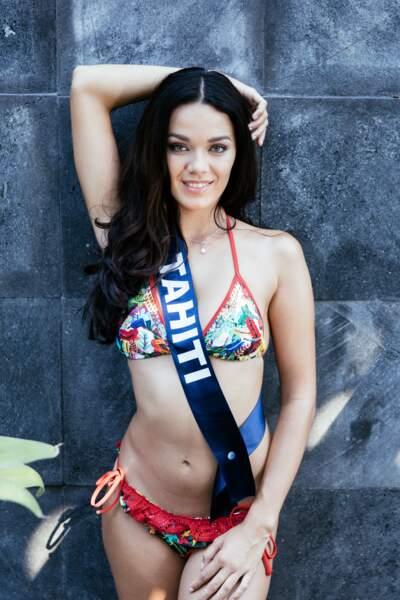 Vaea Ferrand, sublime Miss Tahiti