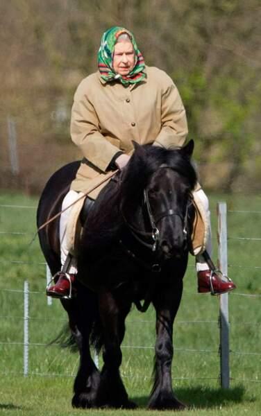 Ou une grande sortie à cheval !