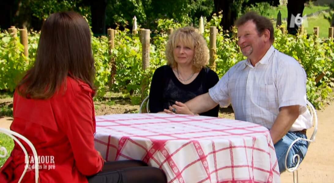 On commence avec LE couple de la saison : entre François et Marie-Line, c'est l'amour fou !