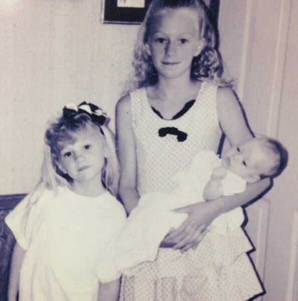 Les sœurs Kinney au complet (devinez laquelle est une future tueuse de zombies !)