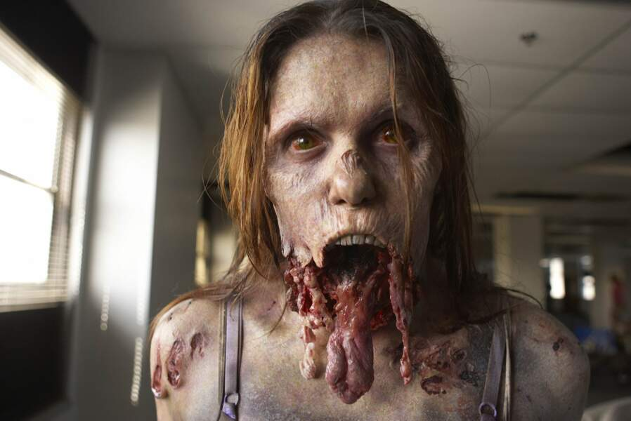 En zombie de Walking Dead, un grand classique