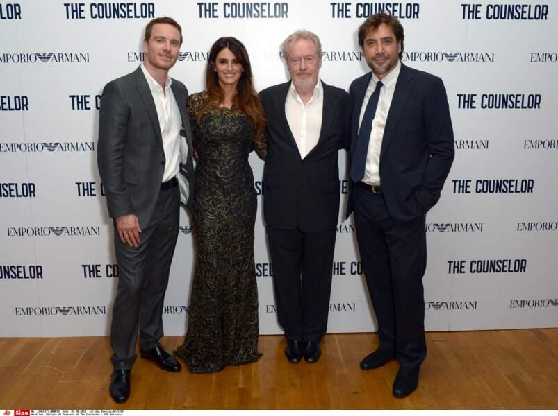 En 2013, elle donne la réplique à Michael Fassbender et Javier Bardem dans Cartel de Ridley Scott.