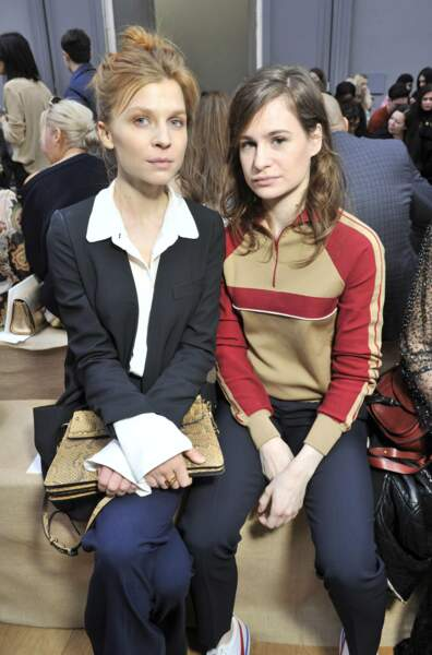 Clemence Poesy et Christine and the Queens